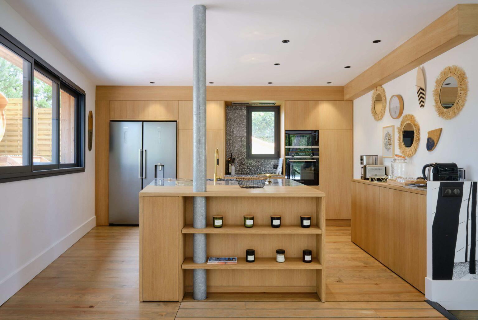 Kitchen - Villa Heuguera - Les Maisons Escapia