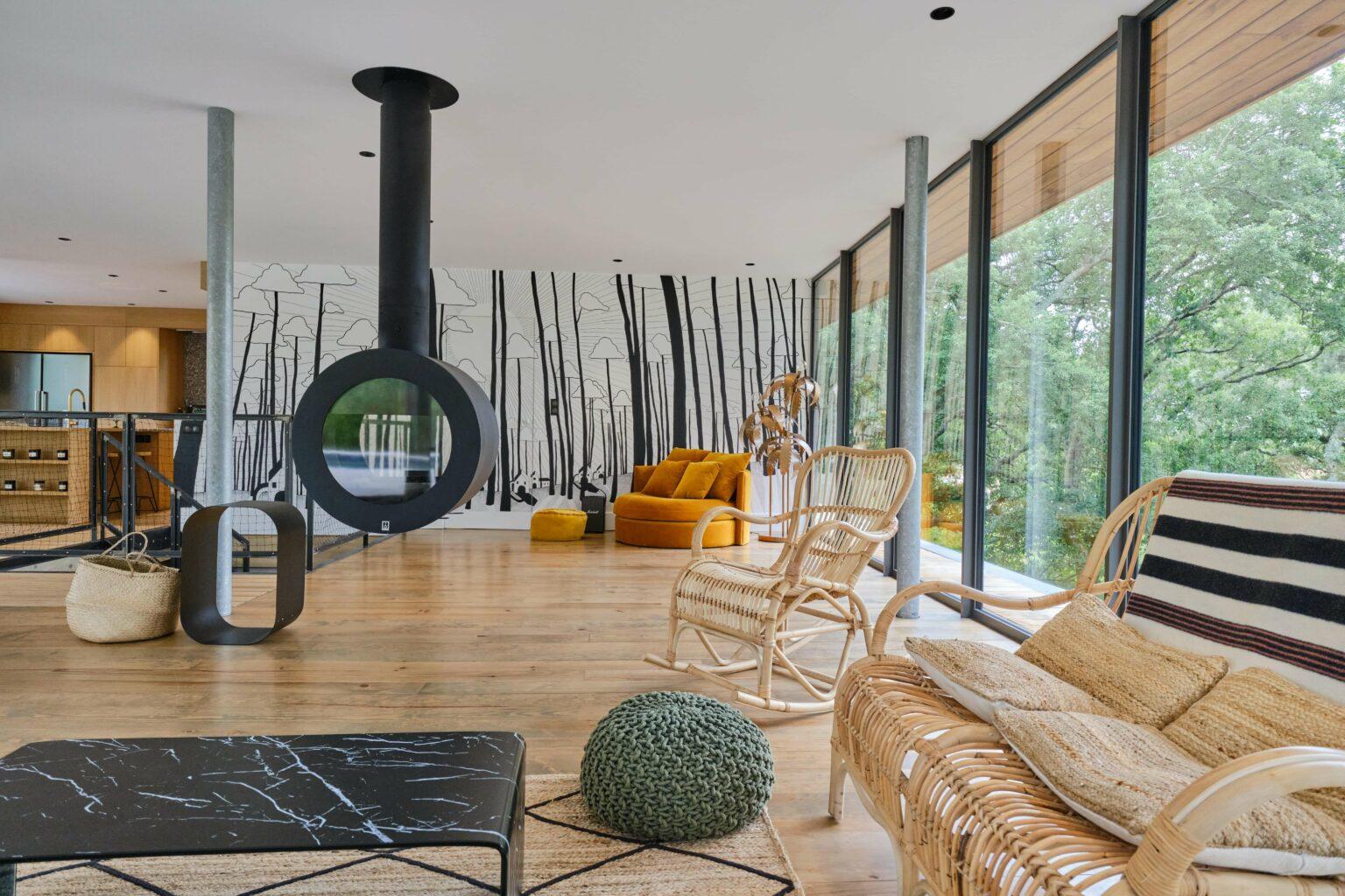 Living Room - Villa Heuguera - Les Maisons Escapia