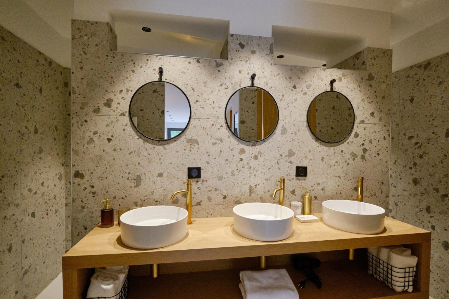 Bathroom - Villa Heuguera - Les Maisons Escapia