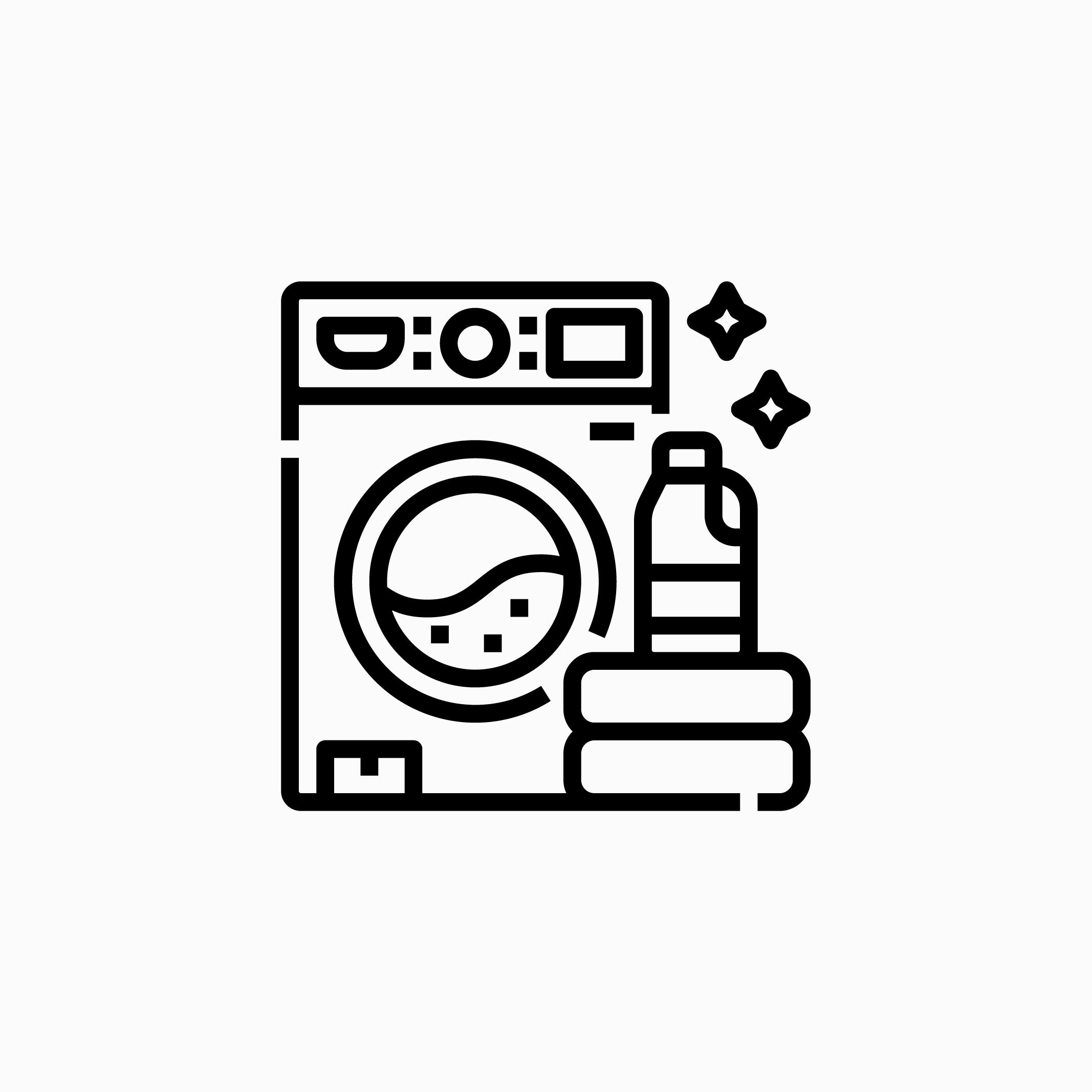 Icon - Laundry - Les Maisons Escapia